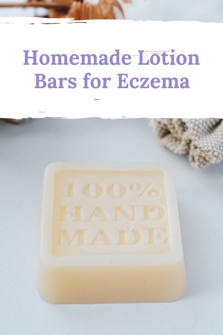 I've created a simple recipe for a DIY eczema lotion bar