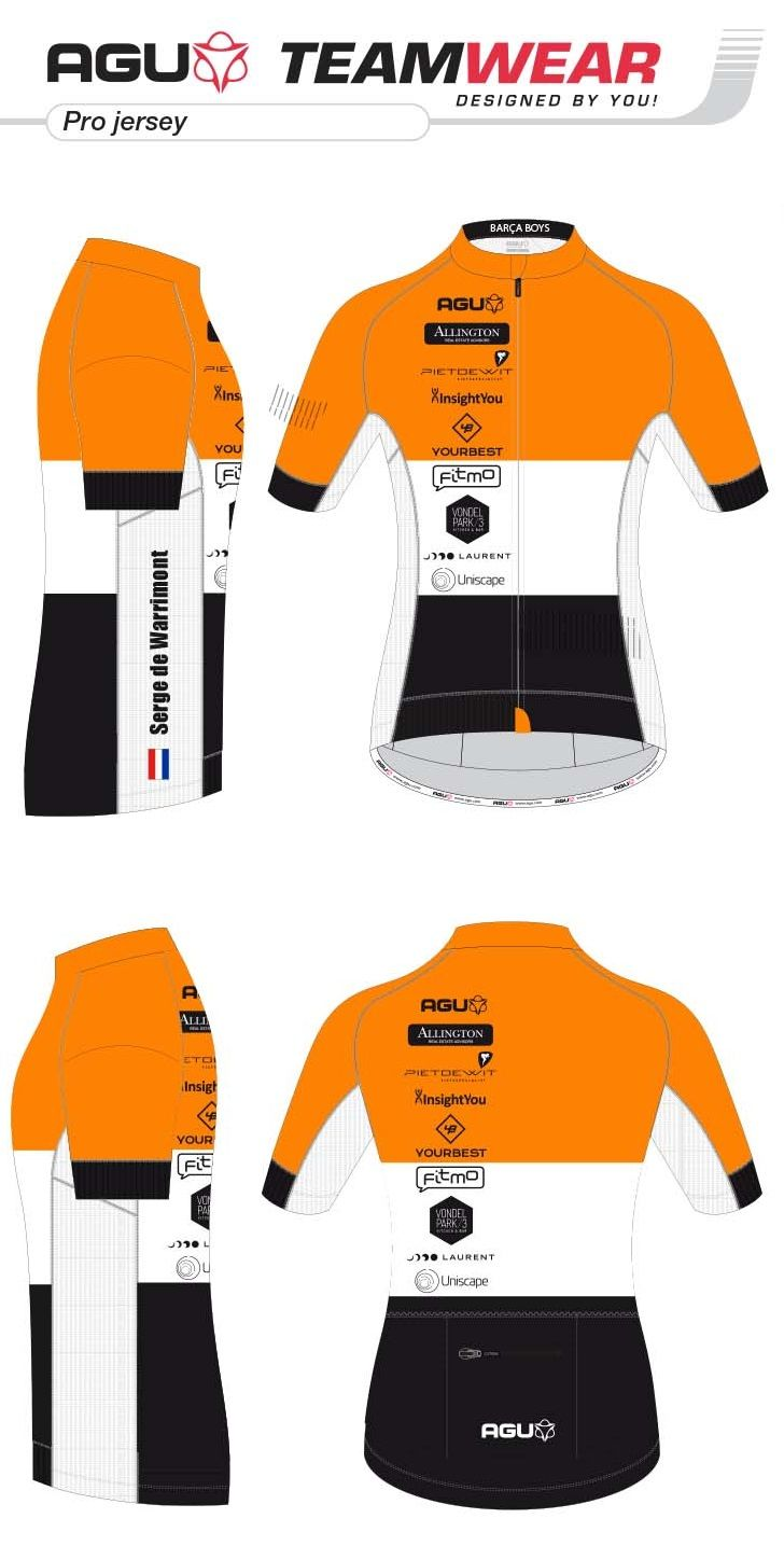 Cycling shirt design your own - Design Your Own Cycling Jersey By Agu Customized Cycling Apparel Designed For Barca