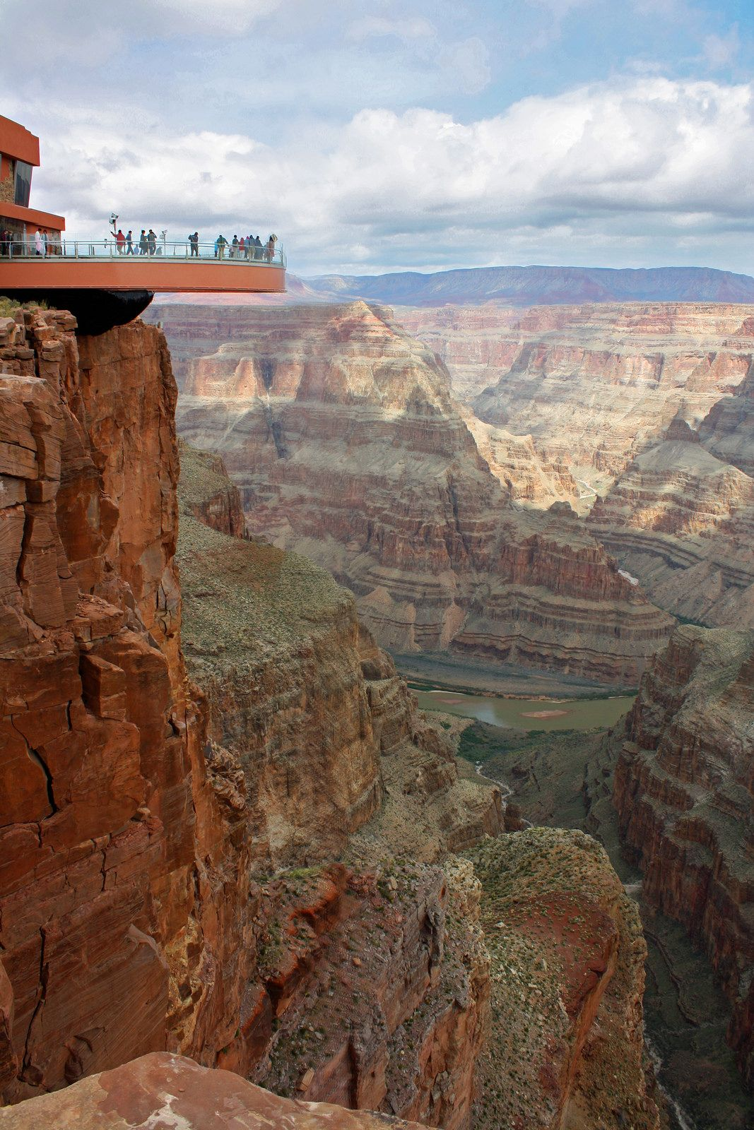 Skywalk At The Grand Canyon Arizona By Notkalvin Grand