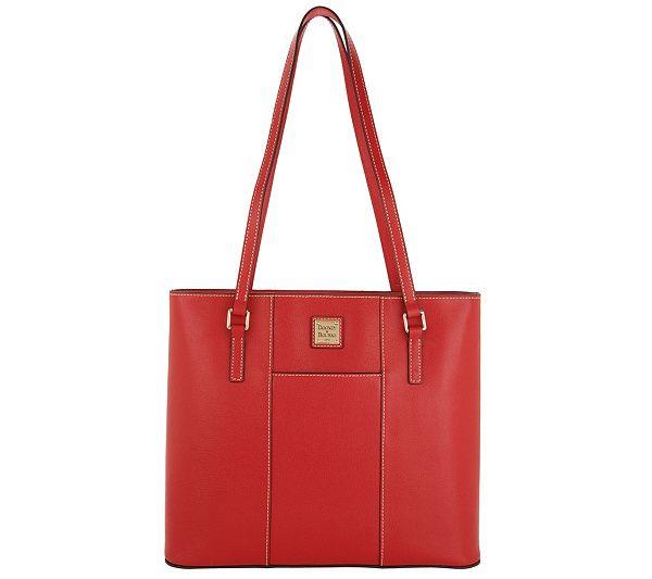 37f8709d7e77 Dooney   Bourke Saffiano Lexington Tote Handbag - Page 1 — QVC.com