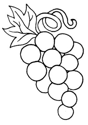 desenhos de uva para colorir 1 coloring pinterest communion