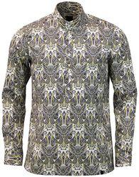 Wilshaw PRETTY GREEN 60s Mod Paisley Kaftan Shirt: http://www.atomretro.com/24641 #prettygreen #kaftanshirt #shirt #paisley #paisleyshirt #atomretro #mensfashion #mensstyle