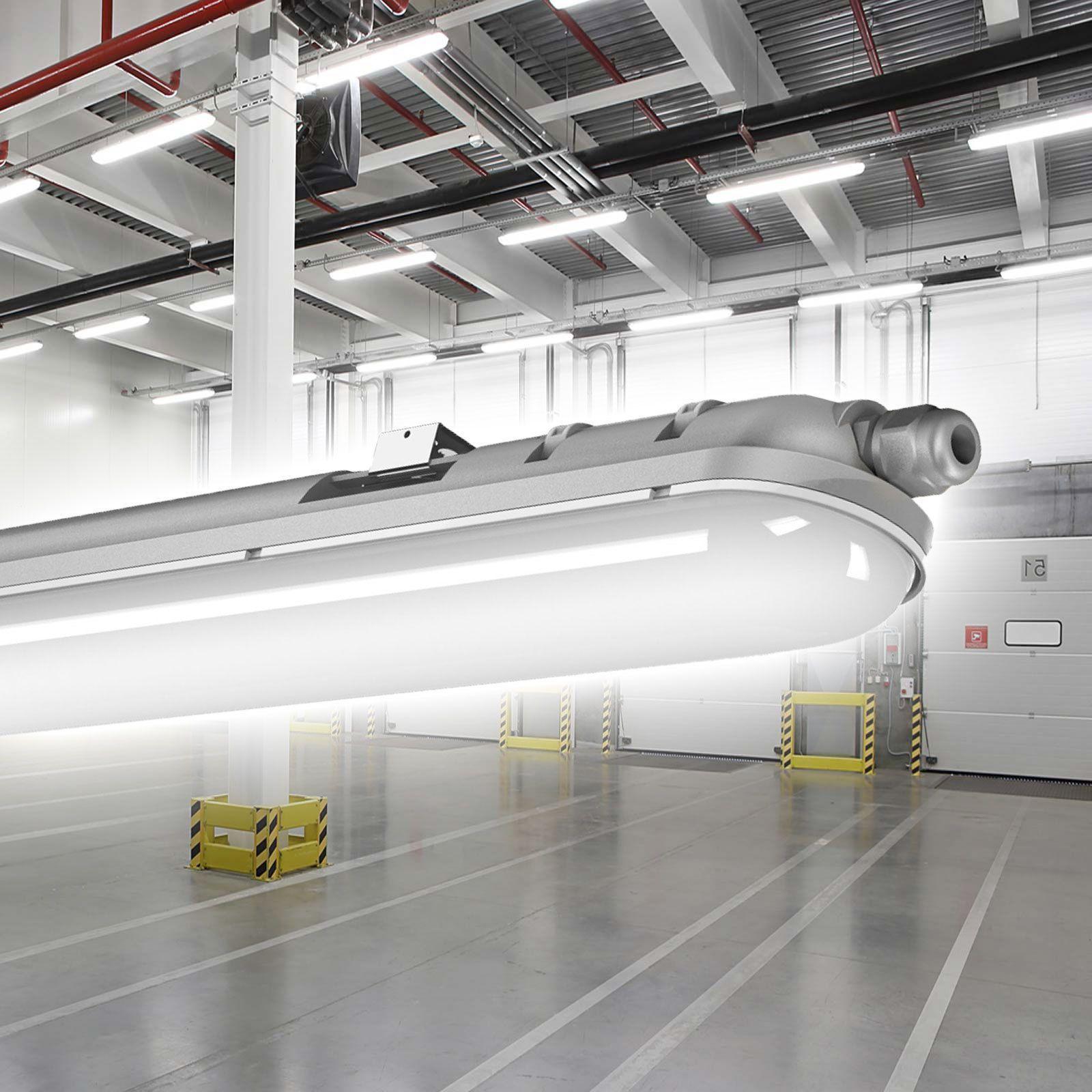 Led Wannenleuchte 36w Hallenleuchte Industrie Wannenlampe Feuchtraumleuchte Ebay Industrie