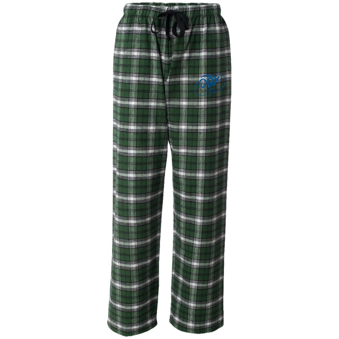 Gangster flannel shirts  Ocean Blue OBX Lyfe Boxercraft Unisex Flannel Pants in  Colors