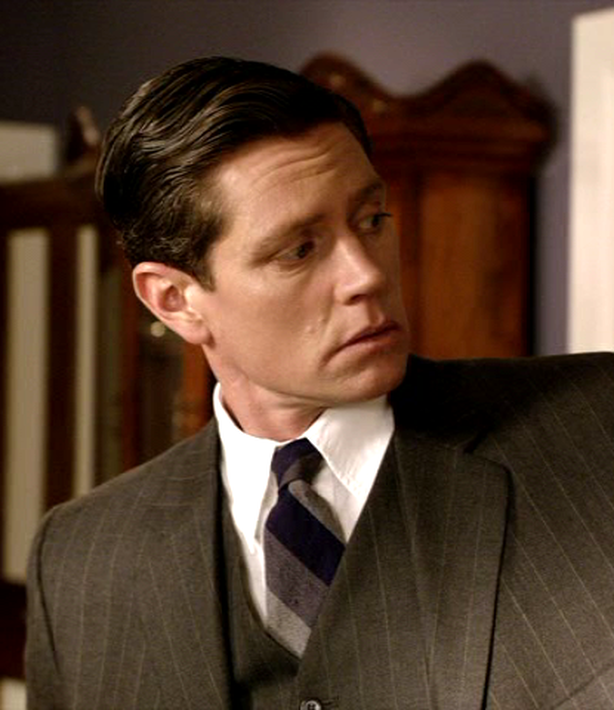 "Getting The Details Right ~ Jack Robinson (Nathan Page) ~ Miss Fisher's Murder Mysteries ~ ""Murder On The Ballarat Train"" ~ Season 1 Episode 2"