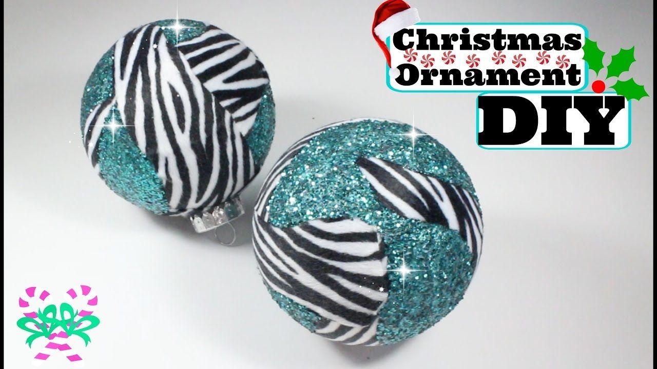 super easy ornament diy christmas ornaments diy