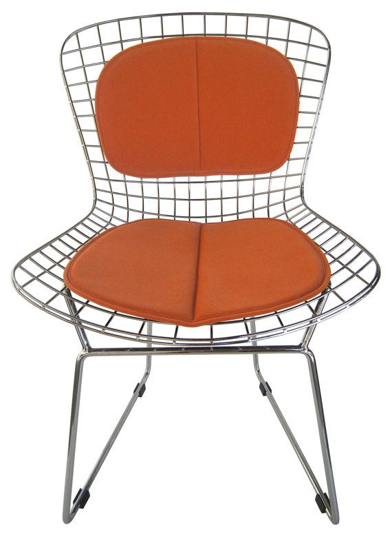 cushion & back pad for bertoia side chair by studiocityloft