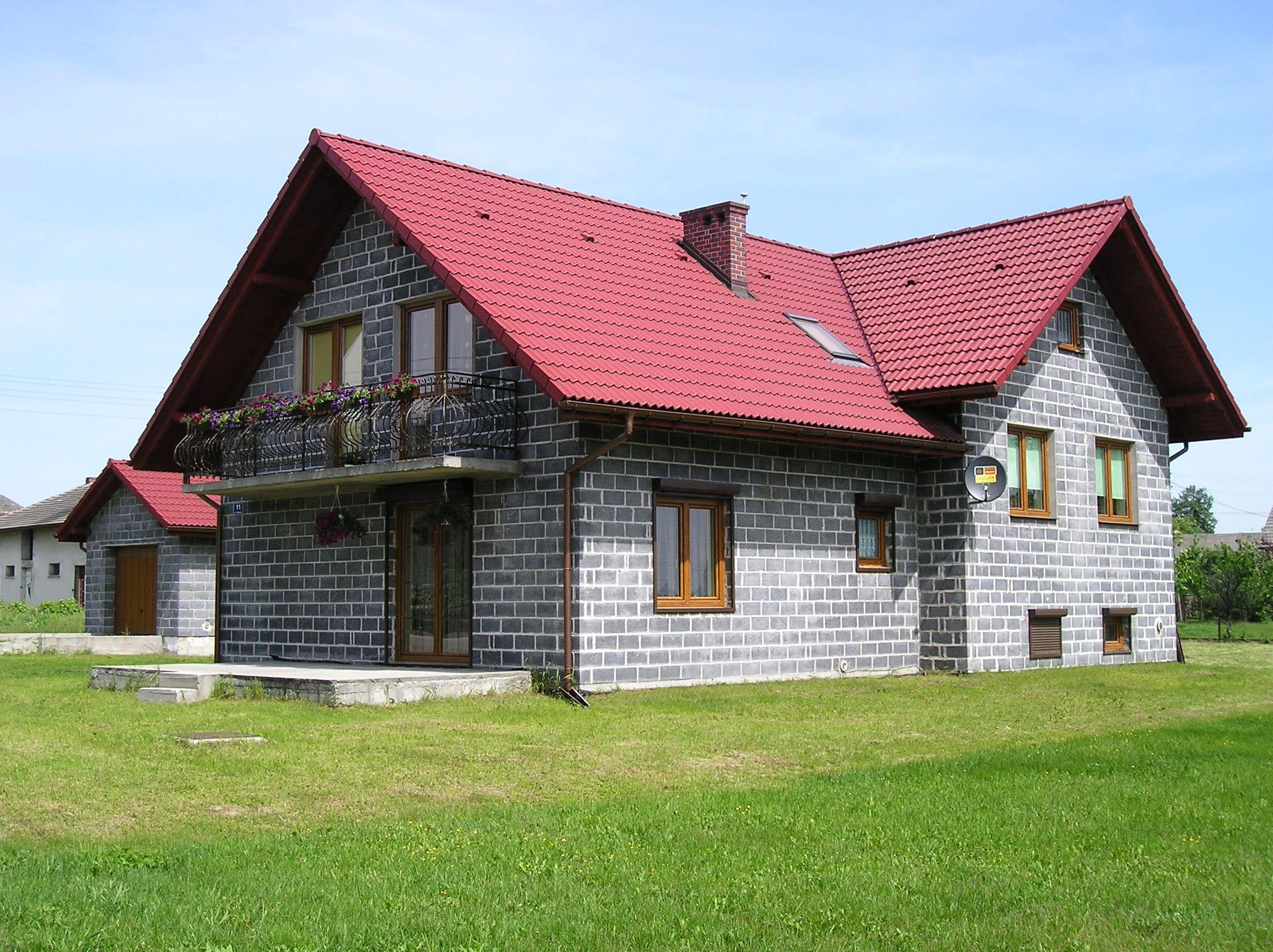 Concrete block house designs