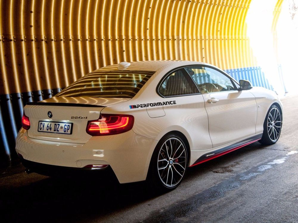 NEW M performance Motorsport SIDE vinyl decal sticker fits to BMW M series