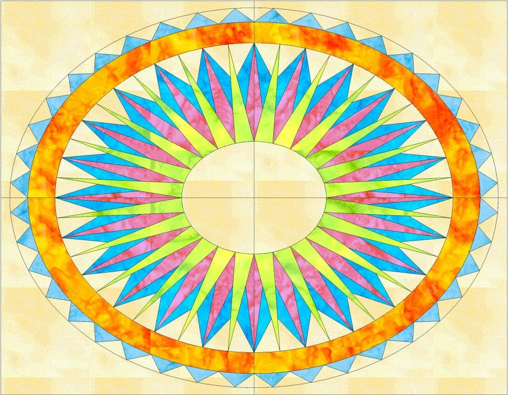 Free Placemat #1 - April, 2011 . Other free patterns and tips ... : pieced quilt patterns - Adamdwight.com