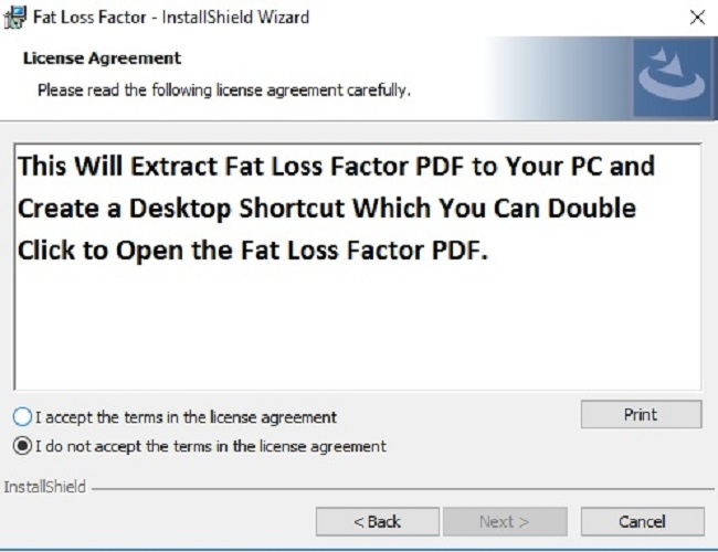 FAT LOSS FACTOR PDF BOOK DOWNLOAD