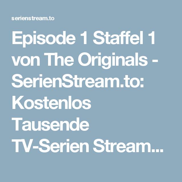 The Originals Staffel 1 Kostenlos Anschauen