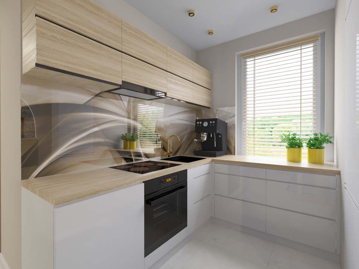 Otwarta Kuchnia W Bezach Z Dodatkiem Zolci Cute Diy Room Decor Kitchen Interior Diy Room Decor
