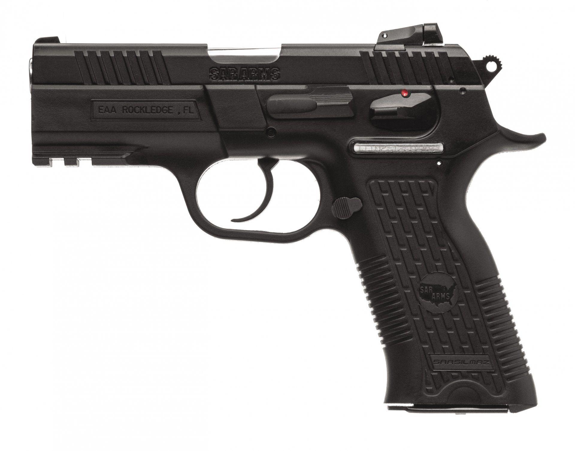 Ambi Safety! SAR K2P Semi Auto Pistol - Sarsilmaz Info from