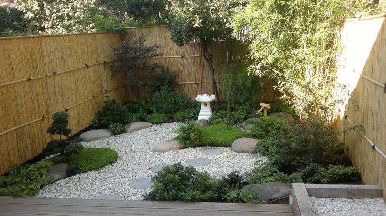 Peque o jardin de estilo zen jardines pinterest - Ideas para jardin pequeno ...