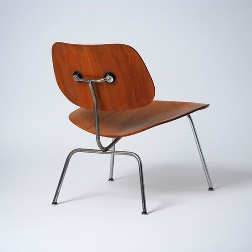 Eames Molded Plywood Lounge Chair Metal Base. Designers Charles and Ray  Eames. The Eames Molded Plywood Lounge Chairs are perfect for living rooms  and ...