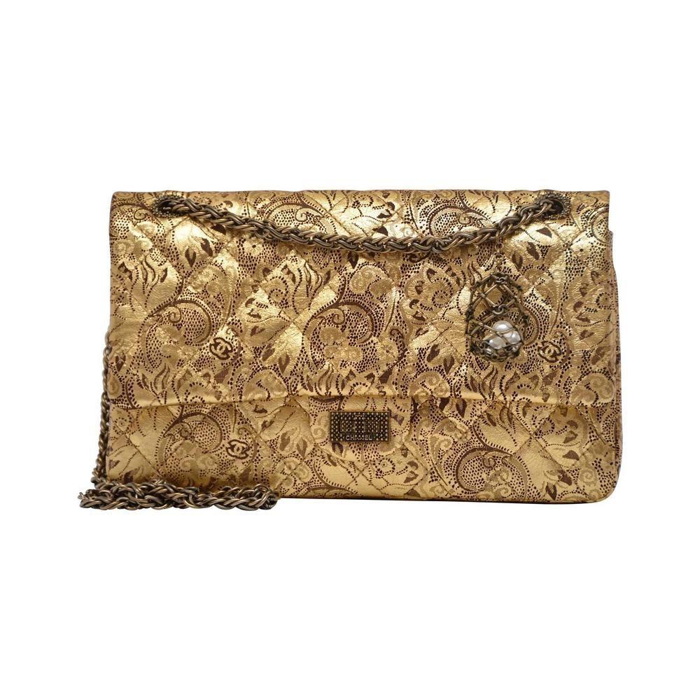 2ce96da43704 CHANEL Limited Edition Leather Paris Moscow FABERGE EGG Flap Bag Handbag NEW