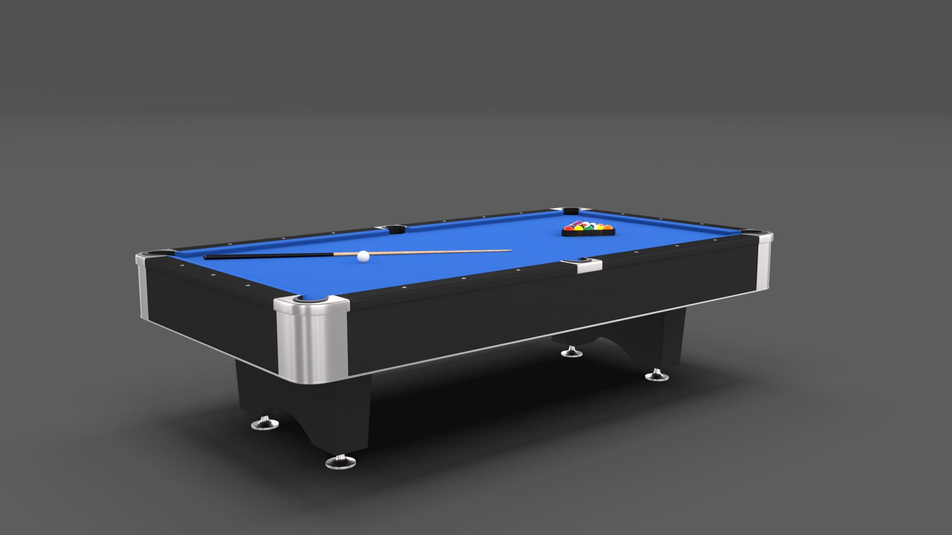 8 Ball Pool Table Blue Pool Balls Pool Table Table
