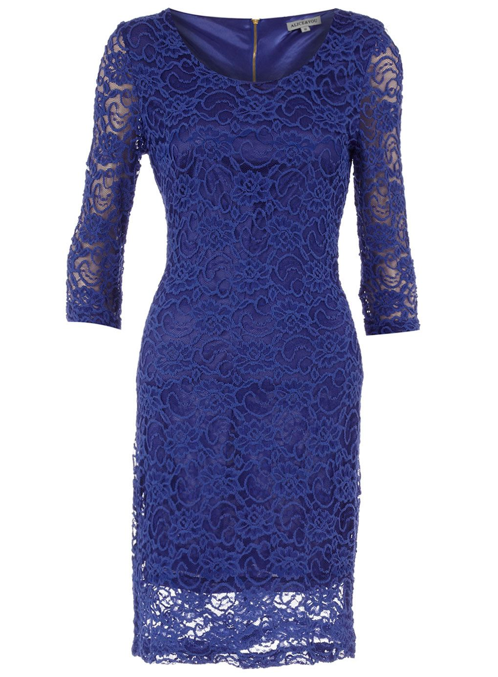Alice & You Royal blue lace dress - View All Dresses - Dresses ...