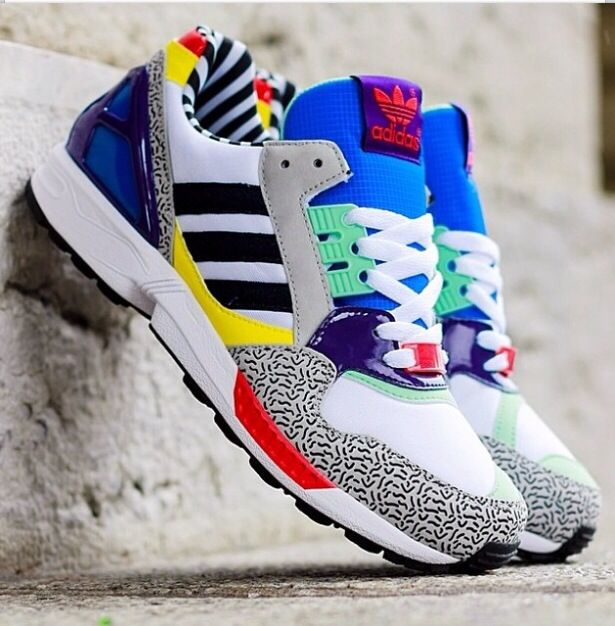 revendeur 4ab6e dcdb5 Adidas Originals x Memphis Group ZX 9000 Torsion Post Modern ...