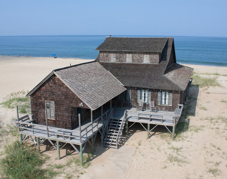 Unpainted Aristocracy In Nags Head Outer Banks North Carolina Homes