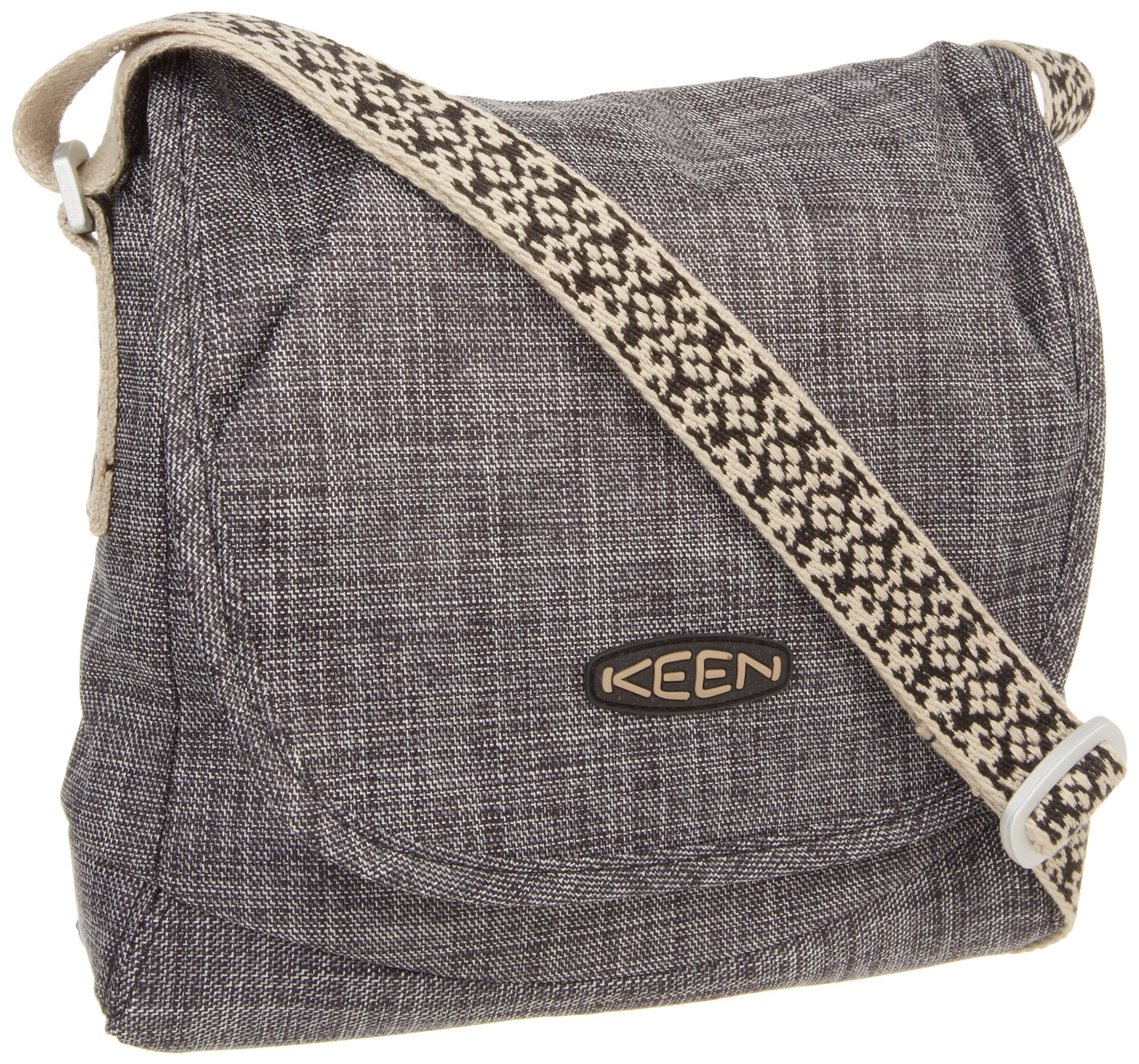 Keen Emerson Cross Hatch Messenger Bag Black One Size