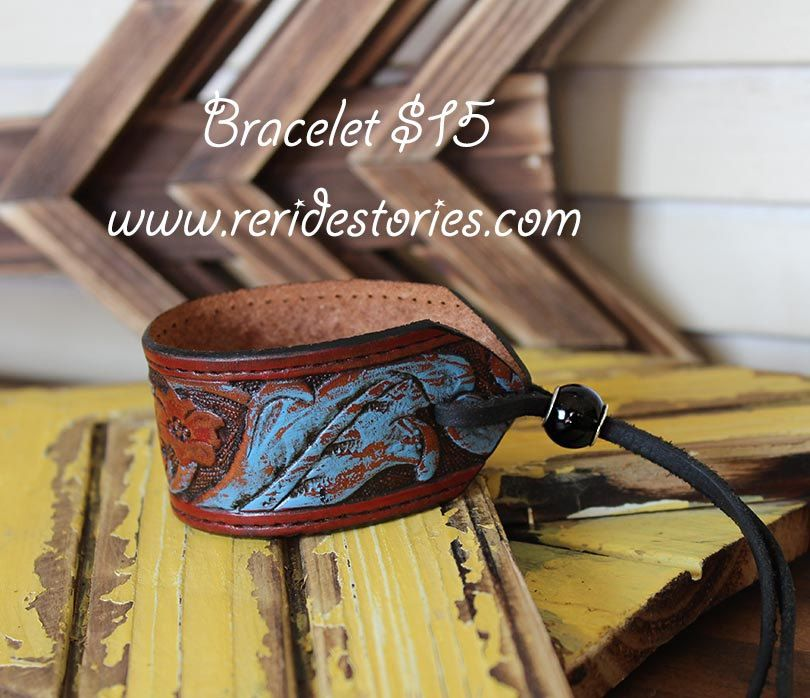 Repurposed tooled leather belt by reridestories on etsy Repurposed leather belts