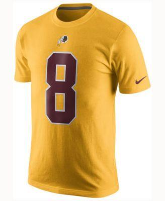 Nike Men s Kirk Cousins Washington Redskins Color Rush Name   Number T-Shirt  - Gold L 254e8dc6e