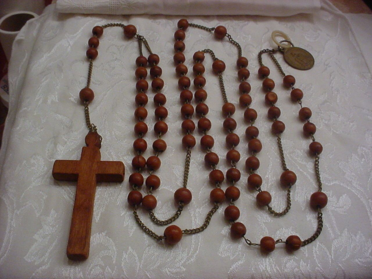 small resolution of franciscan crown rosary 19 early 20th century rosary beads small rosary beads crown rosary diagram