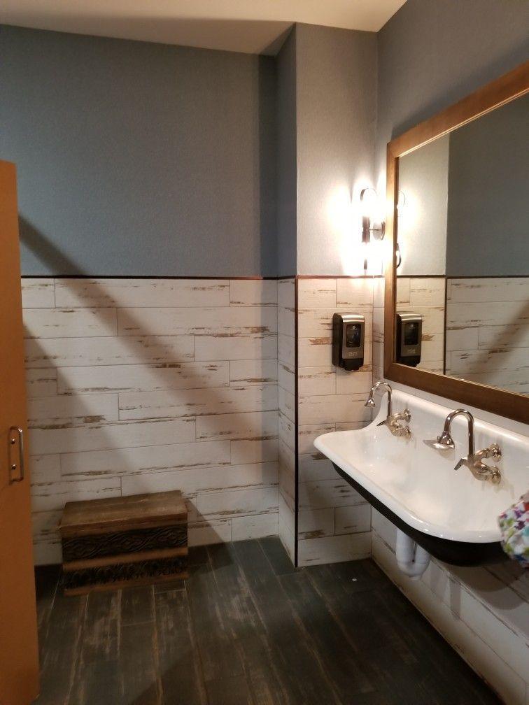 Restaurant Bathroom Ideas in 2020 | Commercial bathroom ...