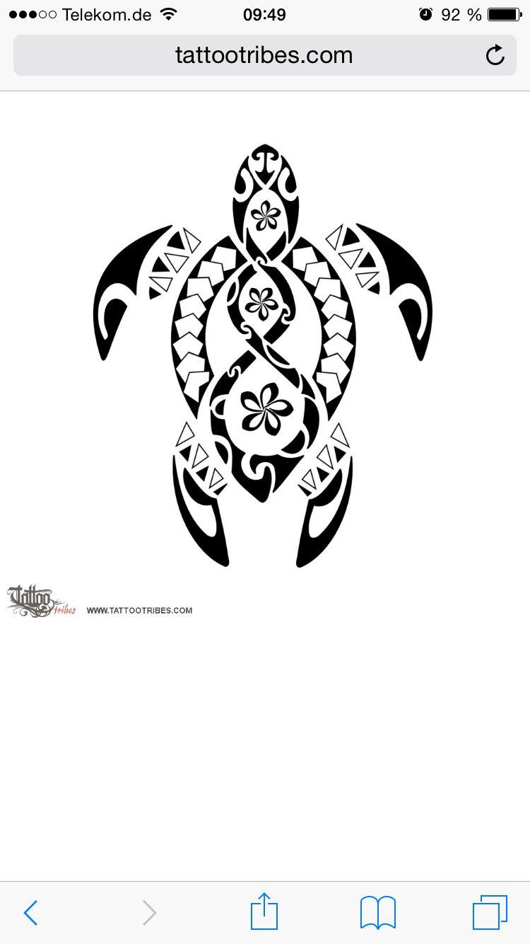 440175747 Maori turtle pikorua Tattoo   Tattoos   Samoan tattoo, Tribal turtle ...