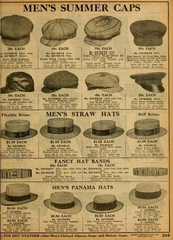 Image result for men's hats of 1912 | Mens summer hats, Vintage mens fashion, Music man costumes