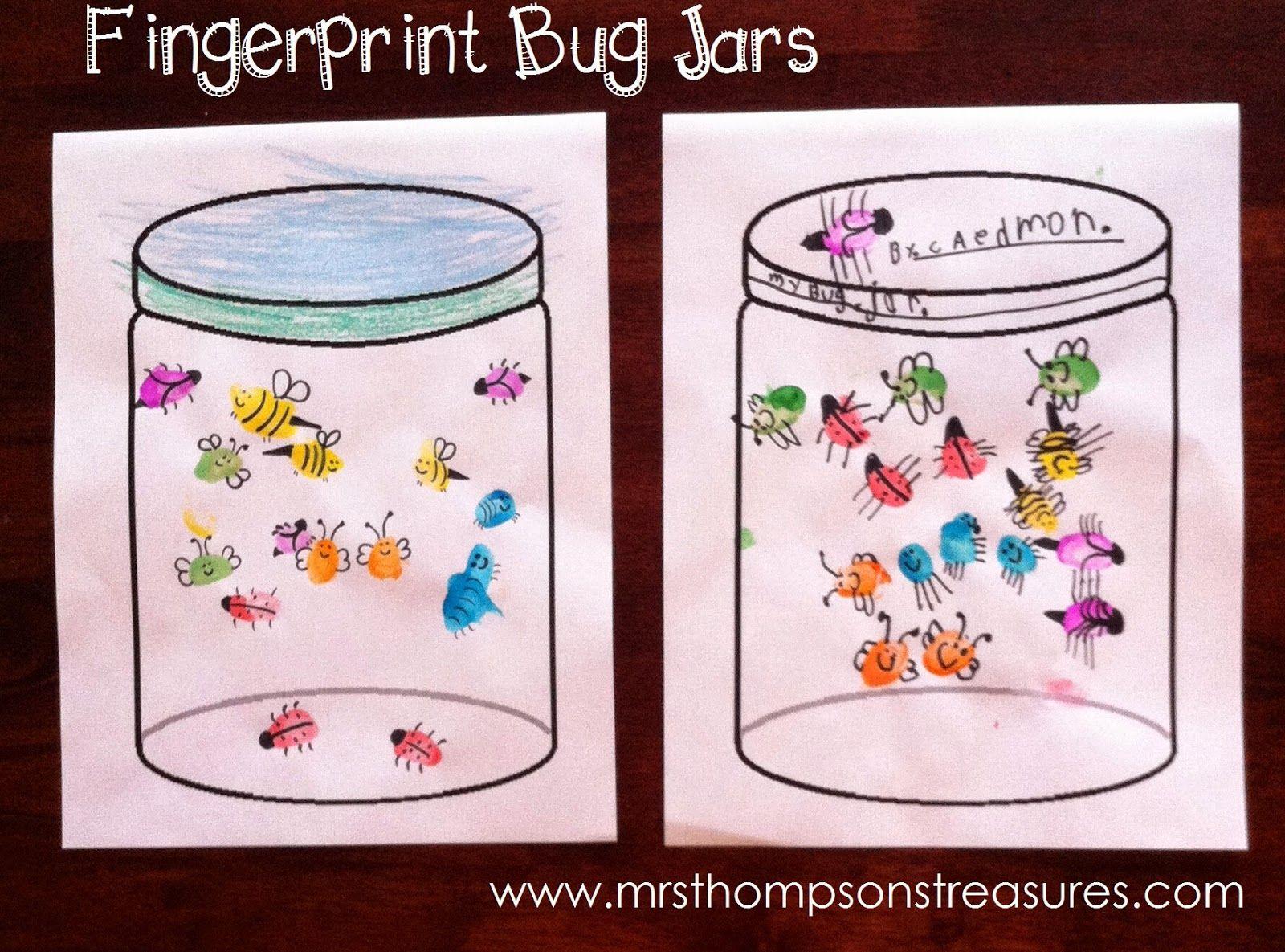 Fingerprint Bug Jars