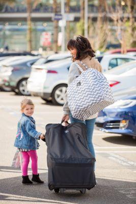 J L Childress Wheelie Car Seat Travel Bag Car Seat Travel Bag
