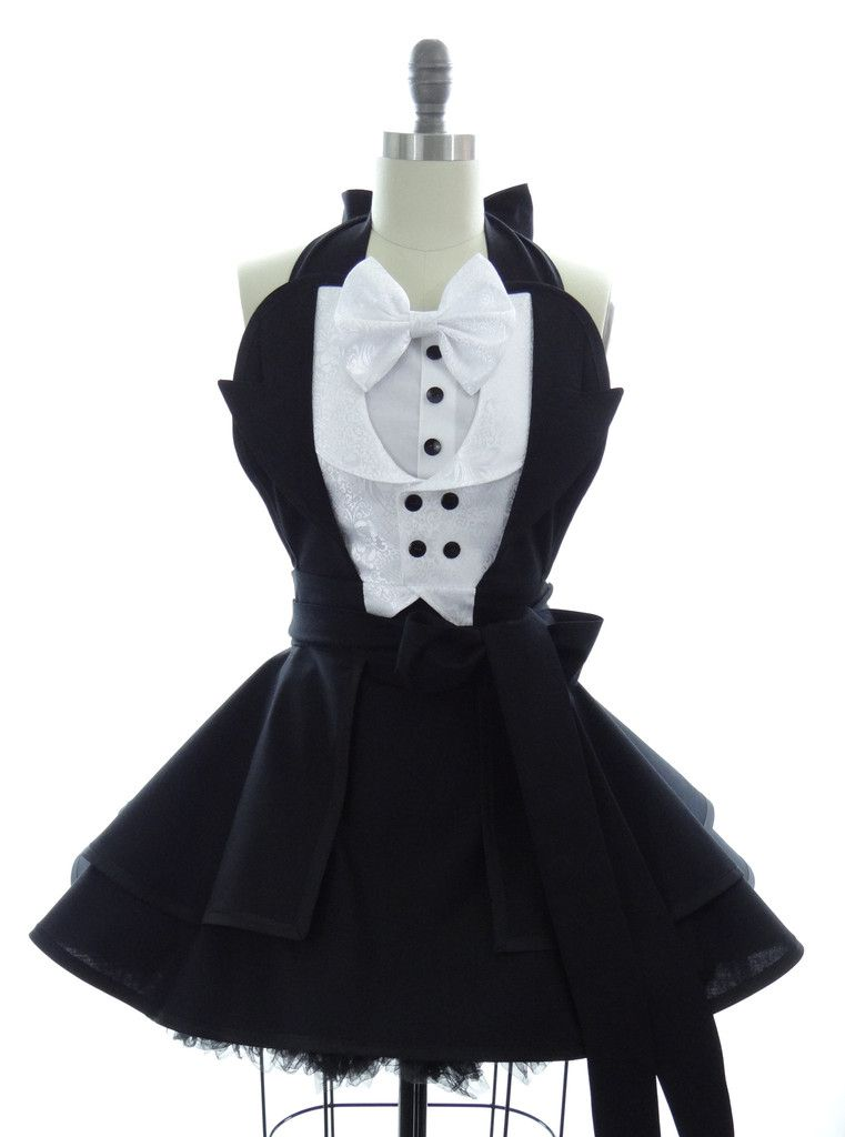 Tuxedo Penguin Apron | Costura, Patrones de costura de delantal y ...