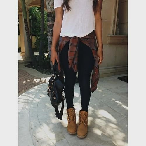 Brown Combat Boots Outfit Tumblr | Fashion & Style | COOL~CALM ...