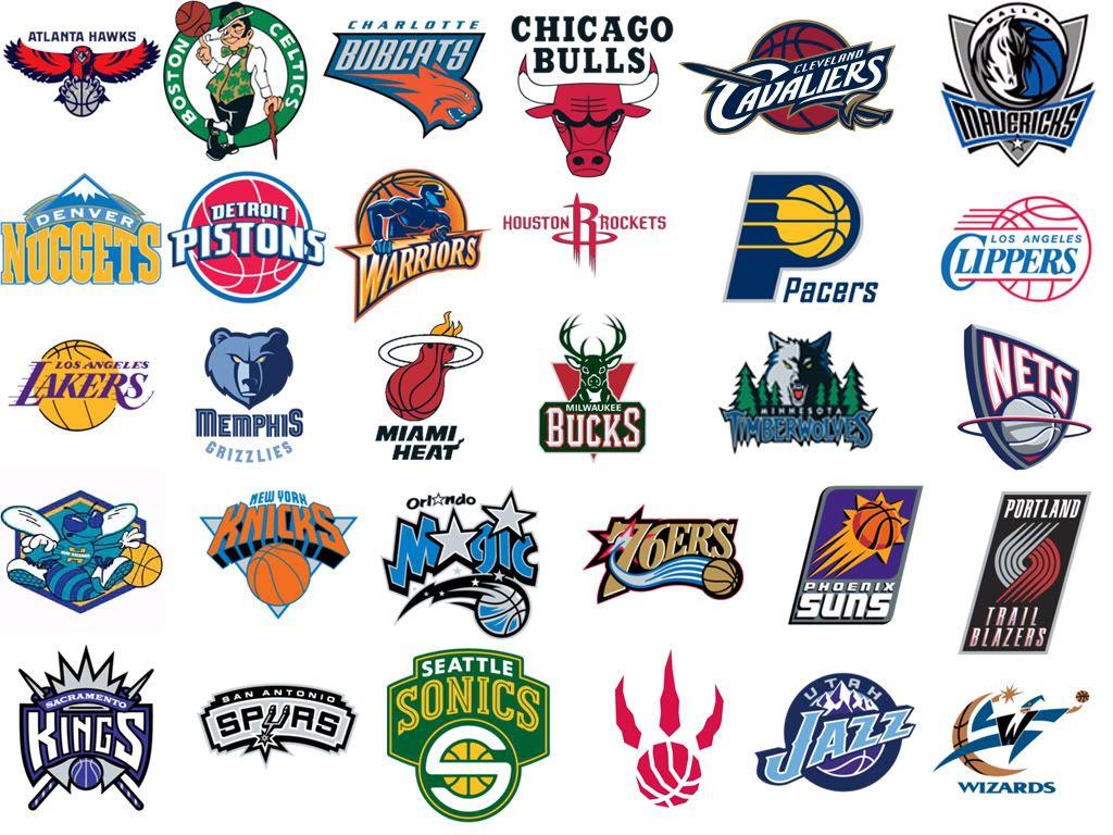 Nba Logos Equipos Basketball Teams Nba Teams Teams