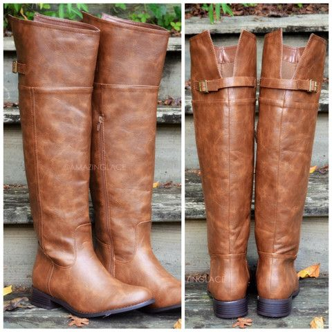 Keep Walking Tan Riding Boots | Amazing Lace | If The Shoe Fits ...