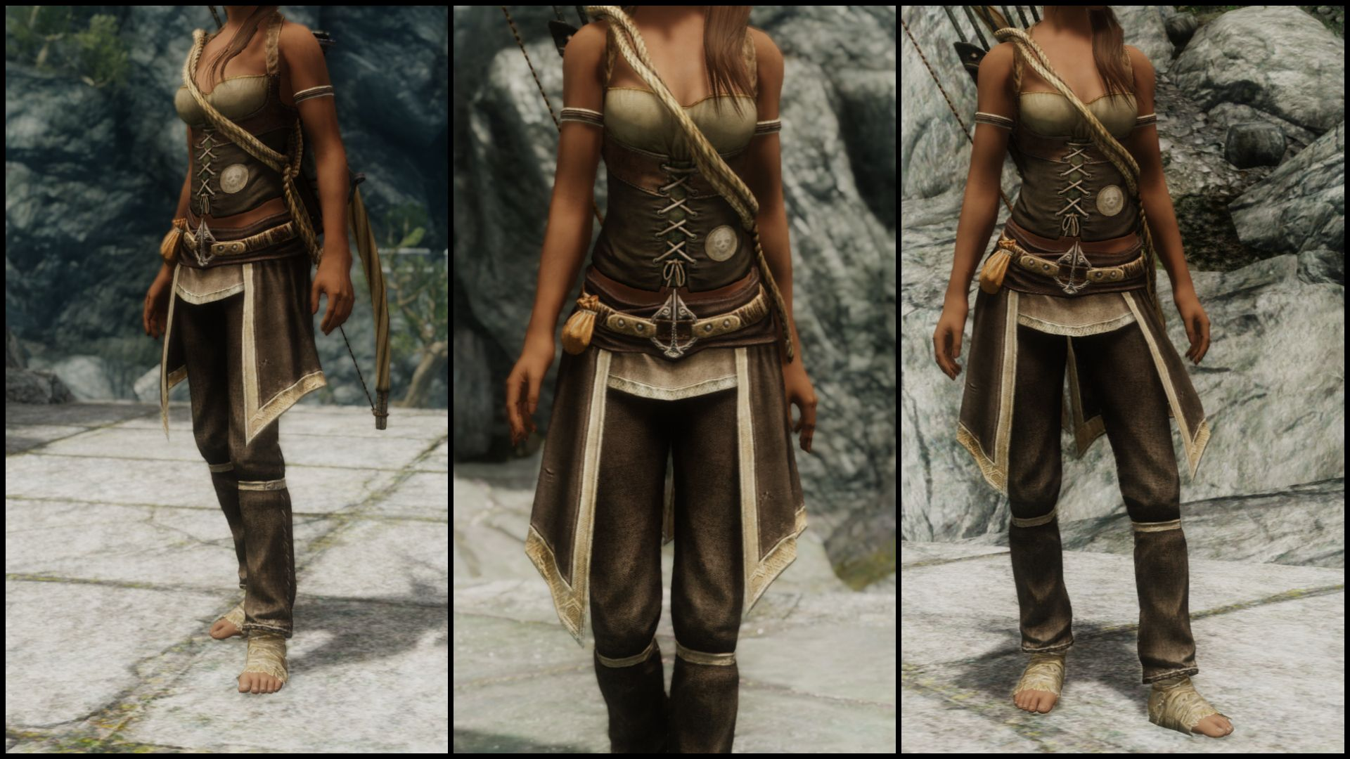 West Wind Combat Series - Misfit Mage UNP at Skyrim Nexus