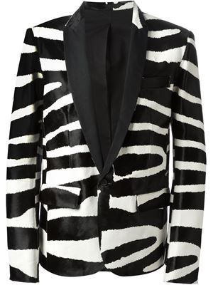 2b0d300f843 BALMAIN zebra blazer £4