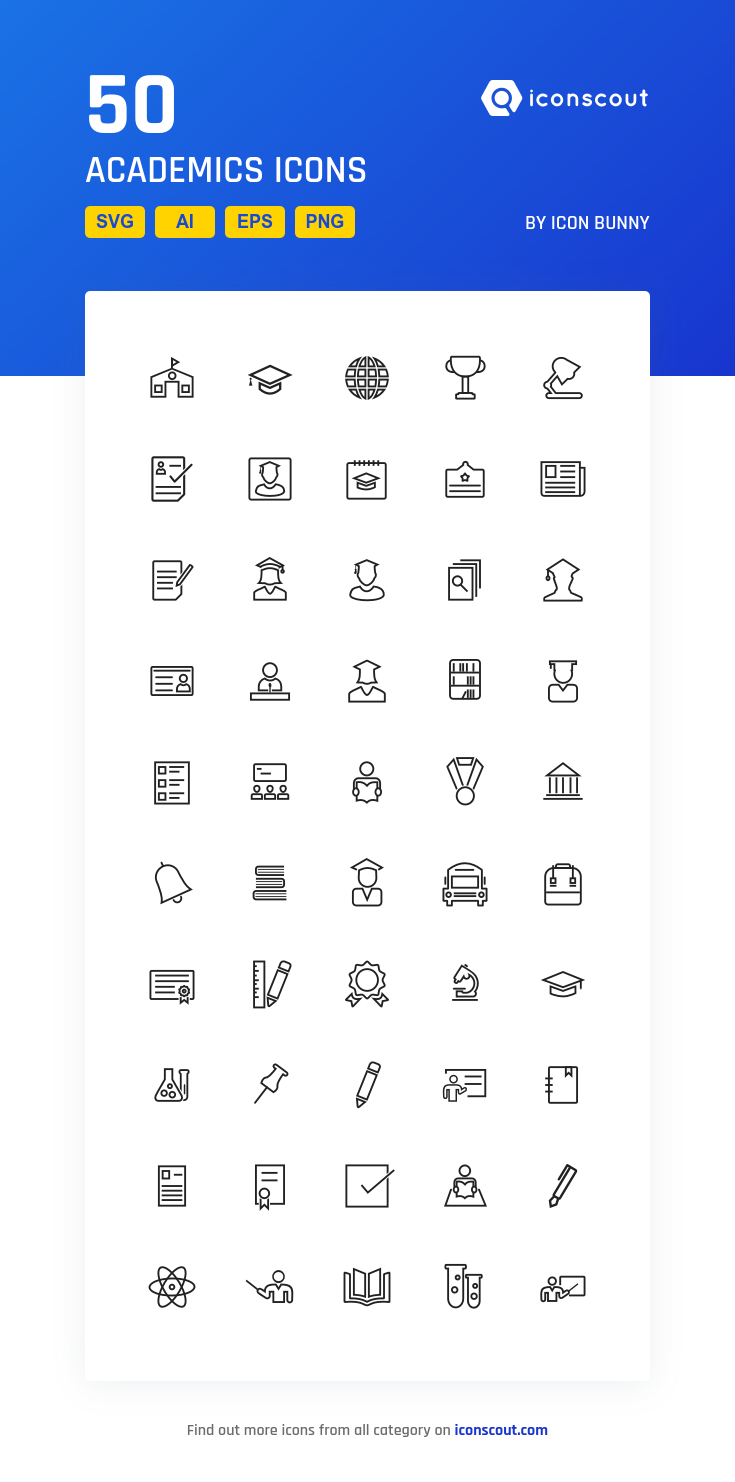 Download Academics Icon Pack Available In Svg Png Eps Ai Icon Fonts Desain