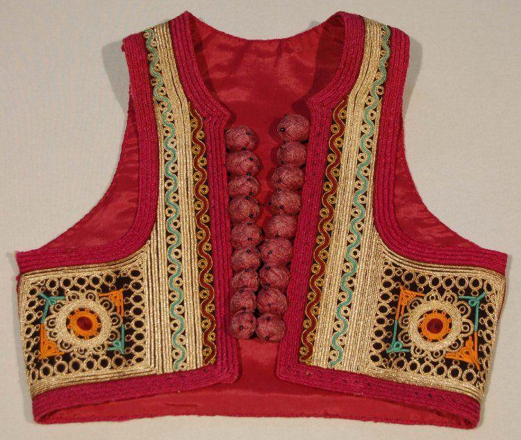 A woman\'s waistcoat, a \'jelek\'. Kosovo,Prizren | vita | Pinterest ...