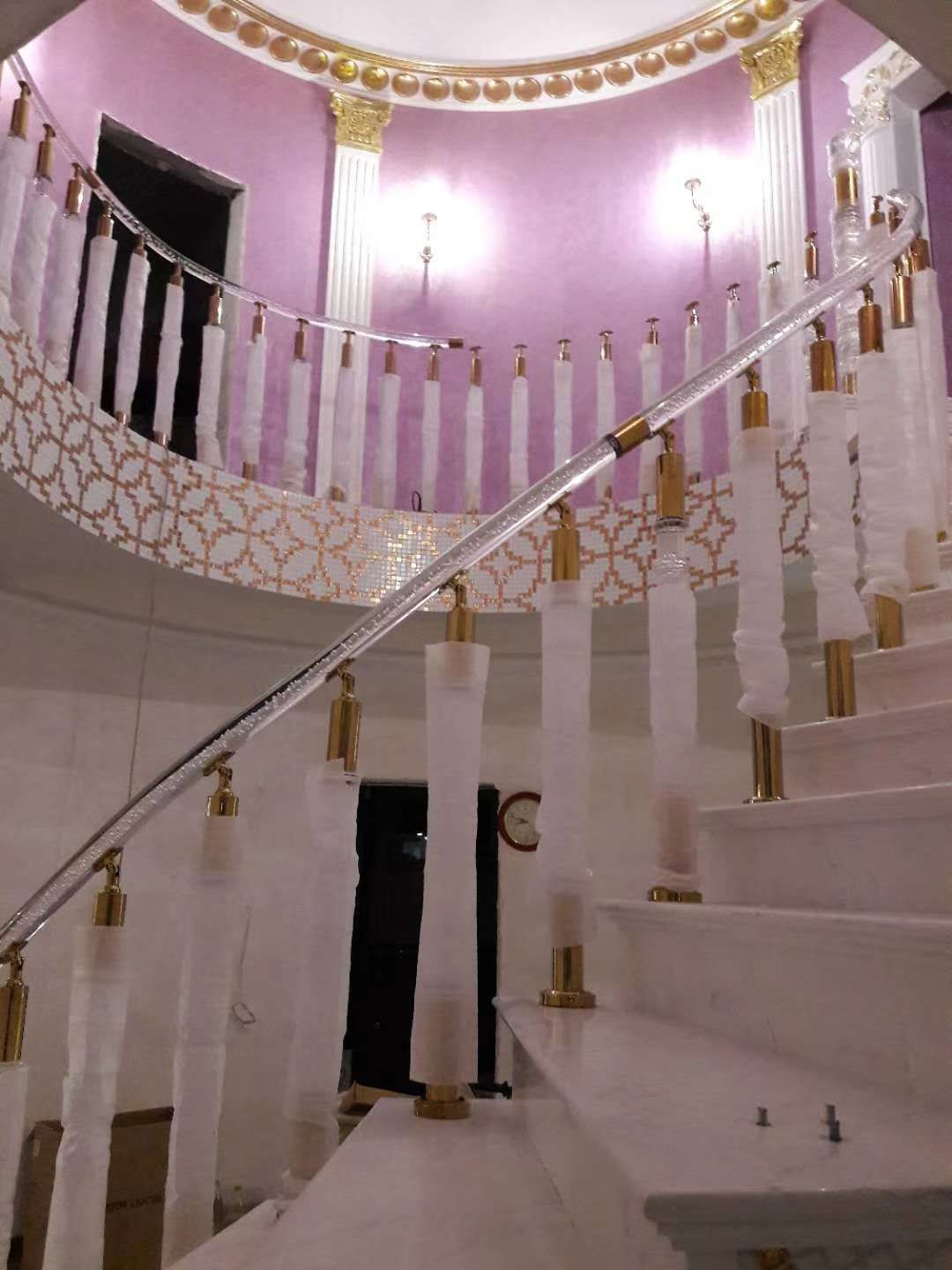 Best Villa Staircase Home Decor Acrylic Stair Railing 400 x 300