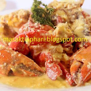 Resep Kepiting Telur Asin Resep Kepiting Resep Resep Masakan Indonesia