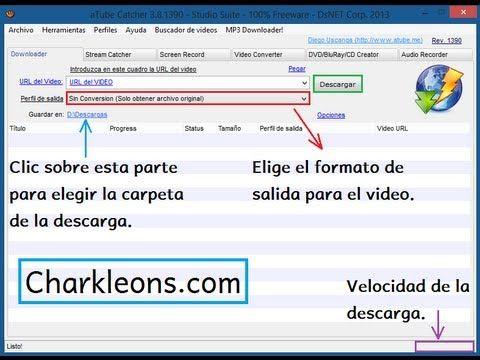 Tutorial Descargar Video De Youtube Charkleons Com Hd 720p