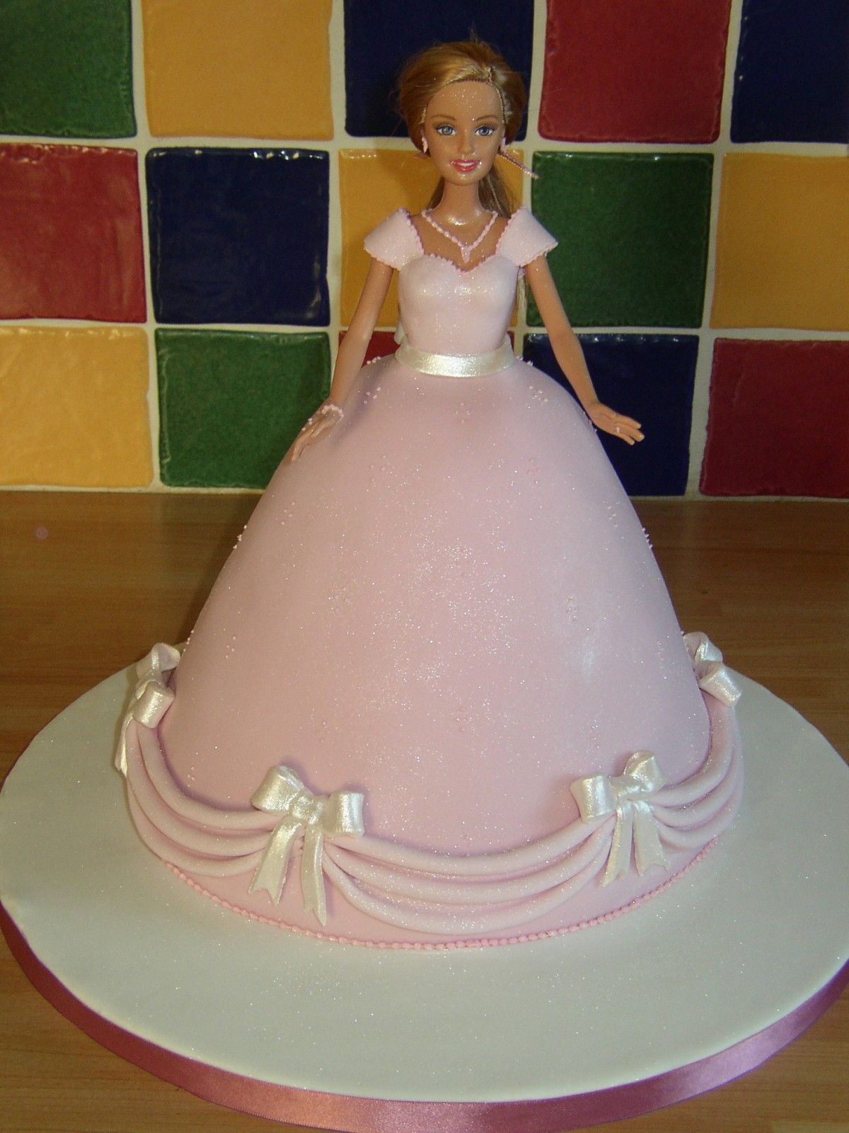 Doll Cakes For Girls Barbie Doll Princess Birthday Cake - Birthday cake doll designs