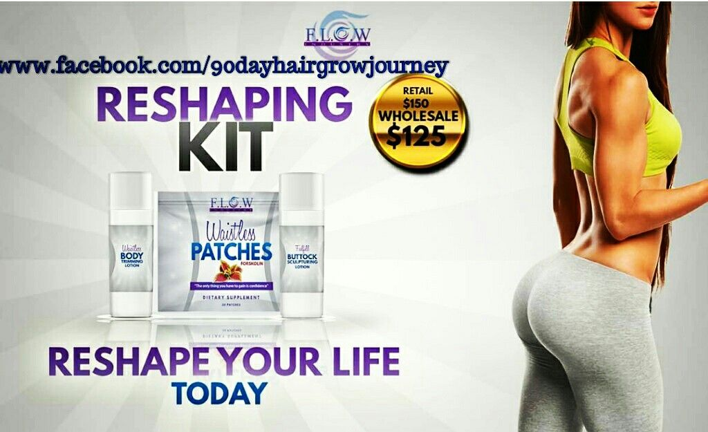 """Lose weight while keeping your feminine figure & sensual appeal! Kit includes: ☆30 Appetite Control Patches ☆Booty Plumping Lotion ☆Slimming Cellulite Cream These lotions use science & nature to safely help you increase the contour and volume of your """"booty"""" while minimizing cellulite around the tummy, arms, back or anywhere stubborn fat has accumulated.  The appetite control patches will give you energy & fight off cravings. Begin & end your day by applying these lotions & waistloss…"""