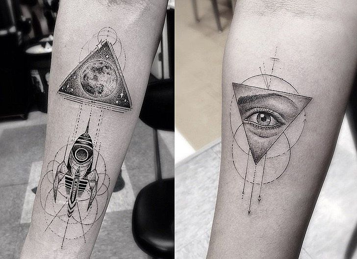 When Did Geometry Tattoos Start: The Unique Tattoo Trend Taking Over Instagram