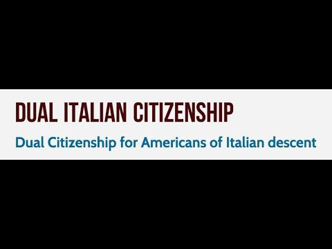 Pin on Italian dual citizenship services