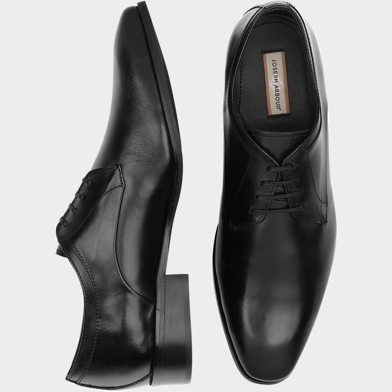 Joseph Abboud Black Lace Up Shoes - Men